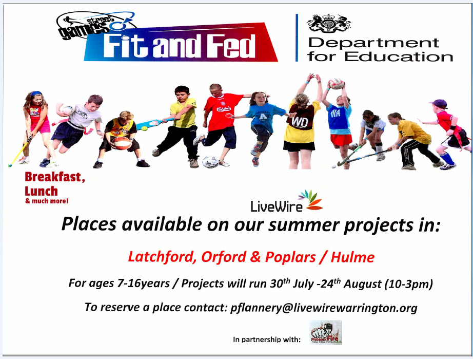 Fit and Fed Holiday Club Poster(2)